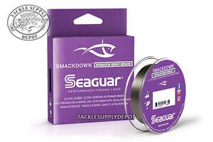 SEAGUAR-Smackdown-Braid-Ligne-De-Peche-Stealth-Gray-150yds-Pick