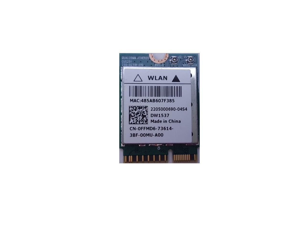 Dell Venue 11 Pro 7130 7139 Wireless Bluetooth 4.0 m.2 Card QCSNFA282 FFMD6