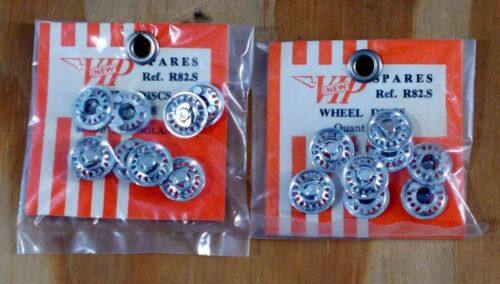 - NEW R82.S WHEEL DISCS 8 PIECES QTY 2 VIP SPARES