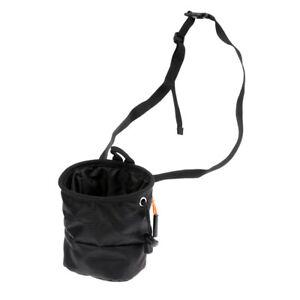 2pcs Non-Slip Gloves Bouldering Weight Lifting Climbing Chalk Bag with Belt
