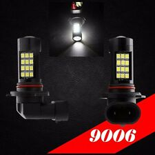 9006 HB4 Samsung LED 42 SMD White 6000K Headlight 2x Light Bulb #Lb2 Low Beam