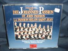 Bach - Johannes-Passion -Stuttgarter Hymnus-Chorknaben / Weyand -3CD-Box