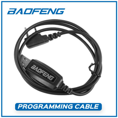 Programming Cable for Baofeng UV-5R GT-3 UV-82 BF-888S 8HP Wouxun Two-way Radio