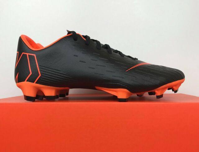 3b8fce419 Nike Mercurial Vapor 12 Pro FG ACC Soccer Cleats Black AH7382-081 Men s Size  7