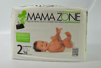 MAMA ZONE Baby Windeln Gr.2 Derma Test SEHR GUT 4-9kg 168x Stück 6x28