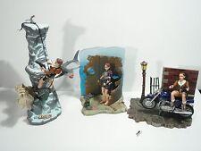 Lara Croft: Tomb Raider Action Figure Lot - 3 Figures