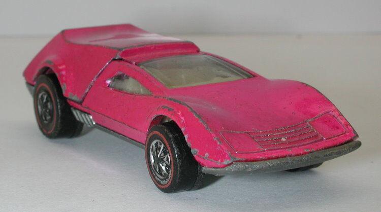 Redline Hotwheels Pink 1970 Tri Baby oc10324