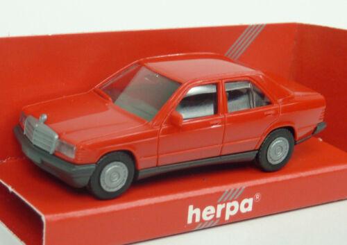 A580 Herpa 1:87 Nr 2040 Mercedes Benz 190E rot in OVP