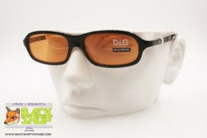 Dolce & Gabbana Sunglasses Orange Lenses, Men's Sunglasses, New Old Stock 1990s