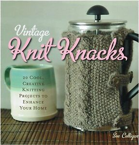 Vintage Knit Knacks 20 Knitting Projects To Enhance Your Home Paperback Book