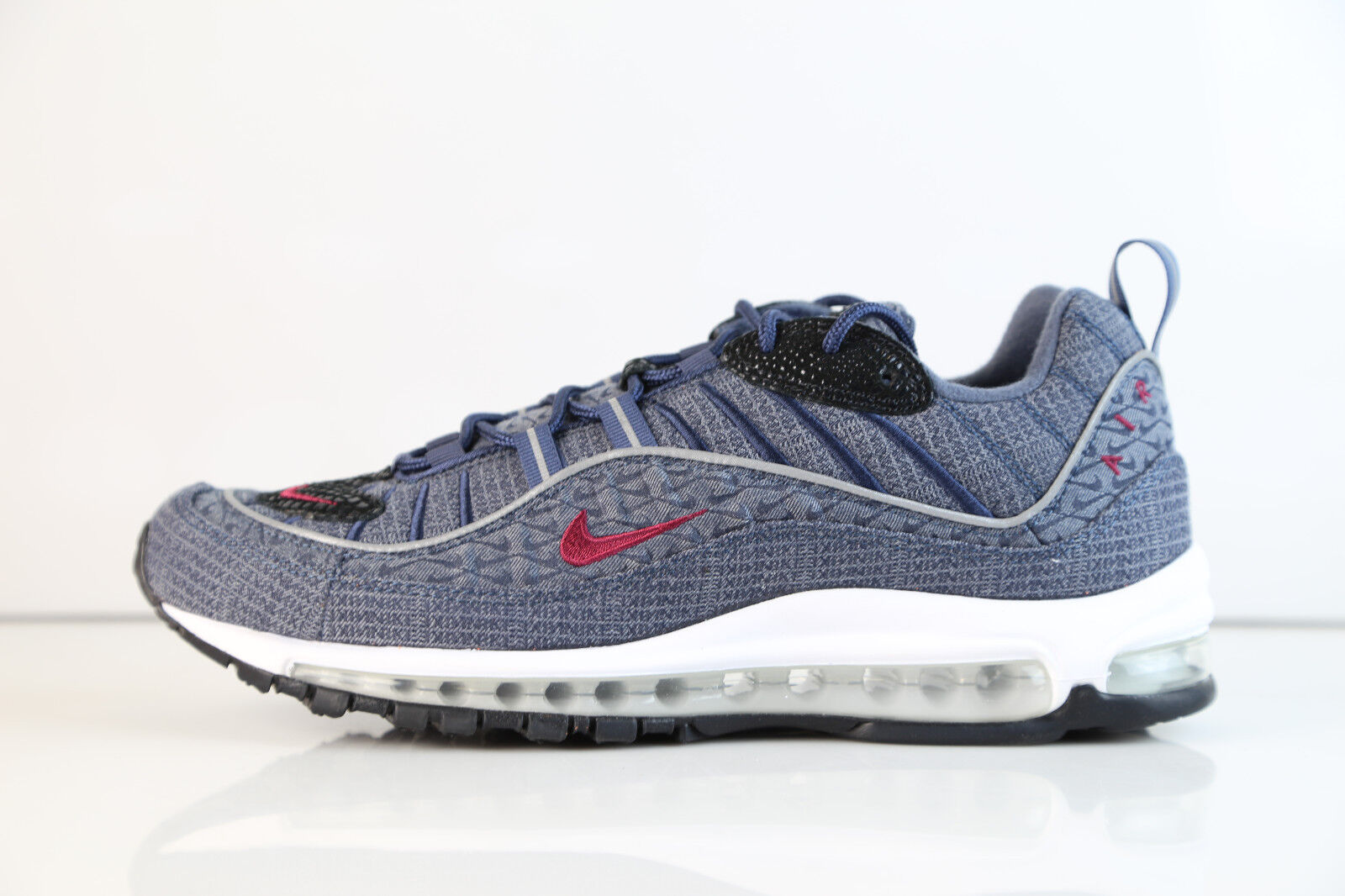 Nike Air Max 98 QS Thunder Blue Team Red 924462-400 8-12 11 97 1 best-selling model of the brand