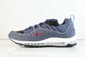 Details about Nike Air Max 98 QS Thunder Blue Team Red 924462 400 8 12 11 97 1