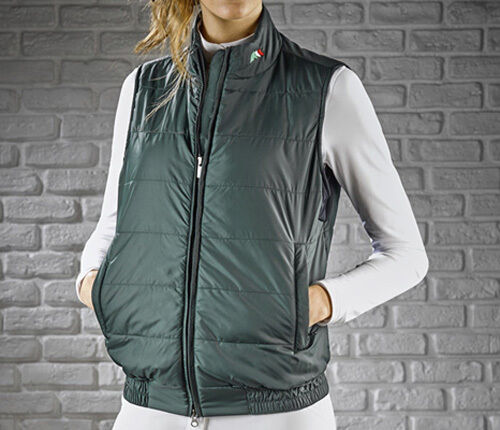 Equiline Roby Unisex Gilet Navy Large