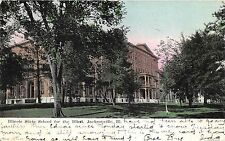 Jacksonville Illinois State School for the Blind~1908 Postcard