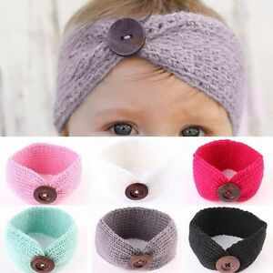Lovely-Baby-Girls-Toddler-Knit-Turban-Hair-Band-Headwear-Headband-Accessories