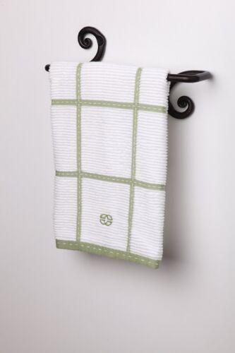 Decorative Swirl Hand Towel Bar Hanger HolderEasy InstallationHandmade