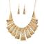 Fashion-Jewelry-Alloy-Choker-Chunky-Statement-Bib-Pendant-Women-Necklace-Chain thumbnail 6