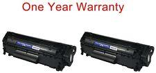2pk non-OEM black print ink toner for HP Laser-Jet M1319f MFP All-in-one printer