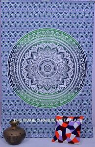 Indian-Tapestry-Wall-Hanging-Psychedelic-Ombre-Star-Mandala-Twin-Cotton-Bedding