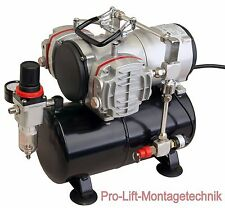 2 Zyl. Airbrush Kompressor AS-28A Start Stop Automatik Airbrushkompressor  01763