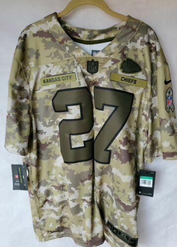half off 074b5 60196 Authentic Nike Kansas City Chiefs Salute to Service Jersey ...