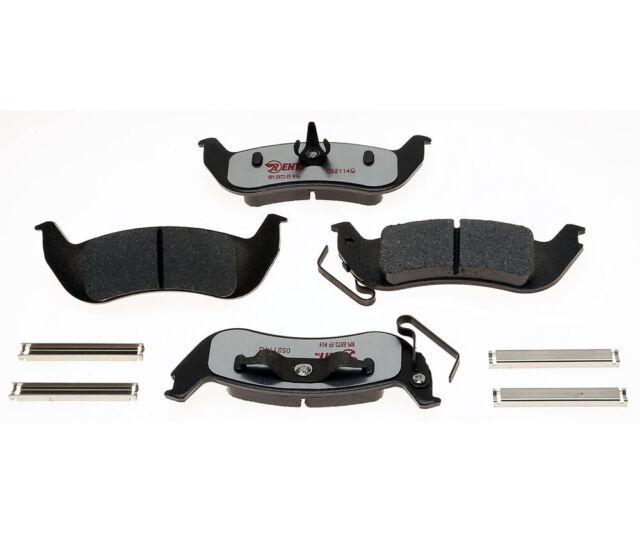 Disc Brake Pad Set-Element3; Hybrid Technology Rear Raybestos EHT1040AH