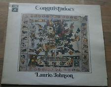 LAURIE JOHNSON CONQUISTADORS 1971 UK LP COLUMBIA / EMI SCX 6464