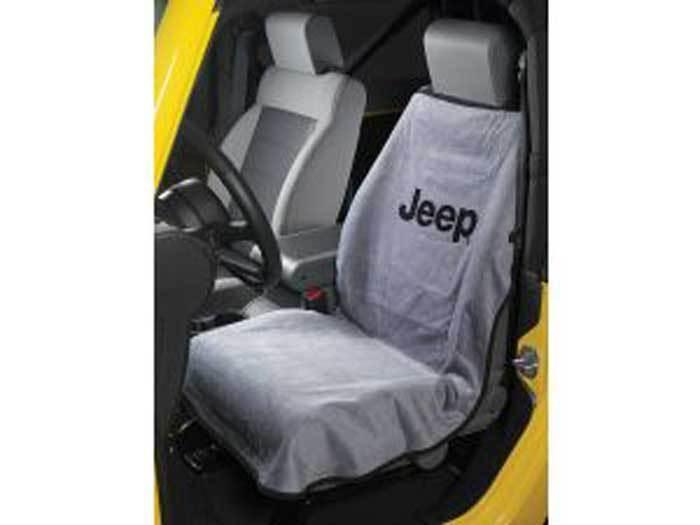 Jeep Wrangler Cherokee Commander Compass Liberty Patriot Gray Seat Cover Towel