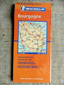 Cartina Stradale Francia Michelin.Dettagli Su Bourgogne Francia Carta Stradale E Turistica Michelin 1 275 000