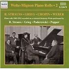 Welte-Mignon Piano Rolls, Vol. 2: R. Strauss, Grieg, Chopin, Weber (2004)