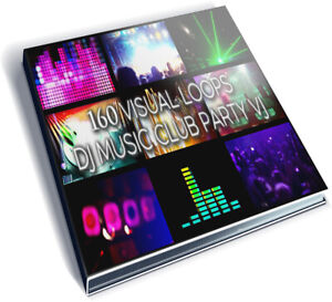 Details about 160 VIDEO FOOTAGES PACK - VISUAL LOOPS CLIP DJ MUSIC CLUB  PARTY VJ PREMIER EDIUS