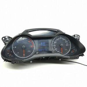 Audi-A4-B8-Diesel-Compteur-Vitesse-Speedo-de-Instrument-Cluster-Km-H