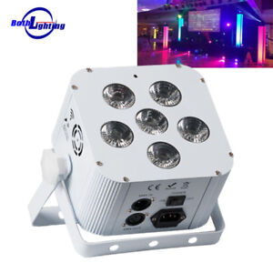 Details About Battery Uplights Fixtures Remote Wifi Control Led Uplighting Wireless Par Cans