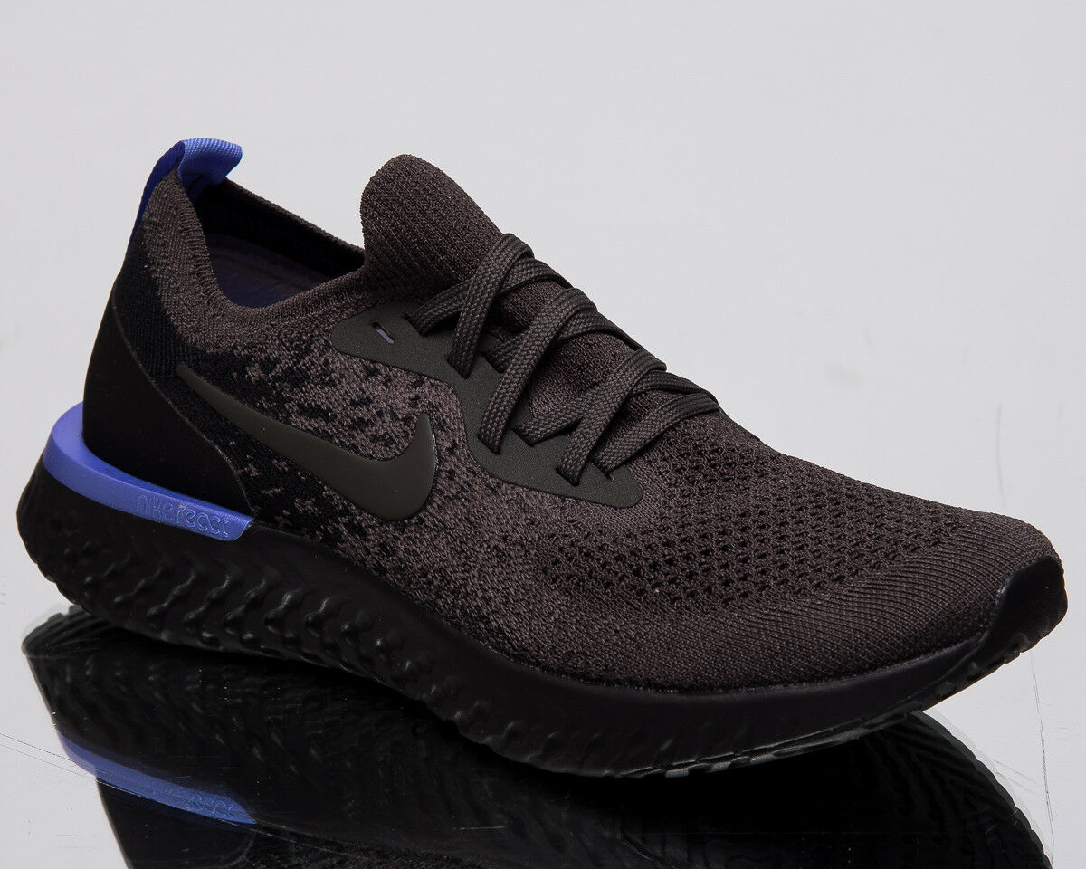 Nike Epic React Flyknit Women's New Newsprint Black Running shoes AQ0070-012