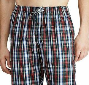 Polo Ralph Lauren Men's Pajama Lounge Pants All Over Pony Deep Purple M L XL