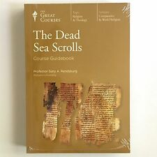 Great Courses The Dead Sea Scrolls Course Guidebook DVD 4 Discs Book New Sealed