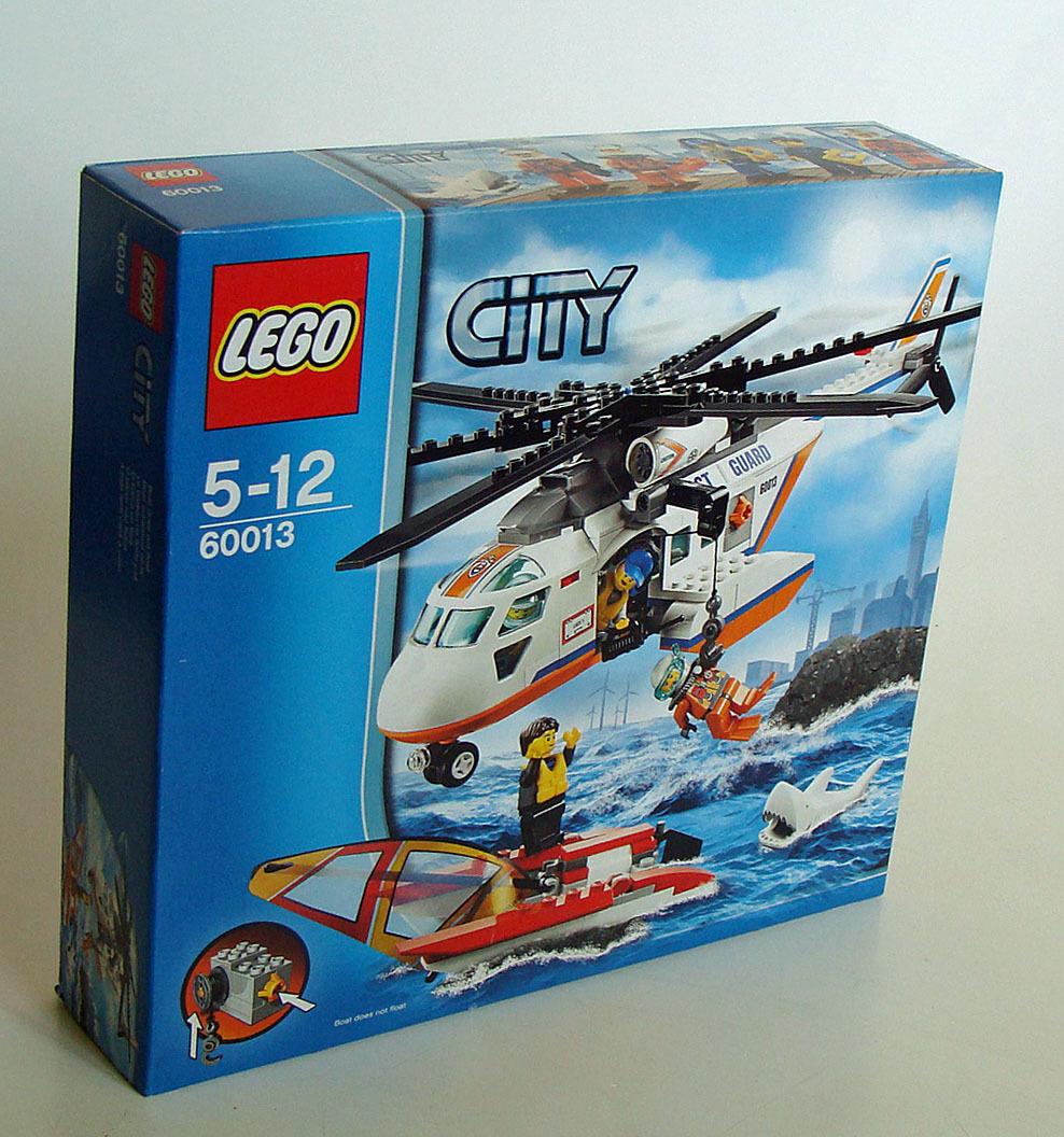 Lego® City 60013 - Hubschrauber der Küstenwache 230 Teile 5-12 Jahren - Neu