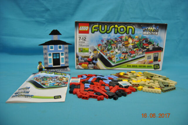 LEGO 21204 Fusion Master Town 100% Complete with Box & Instruction Manual