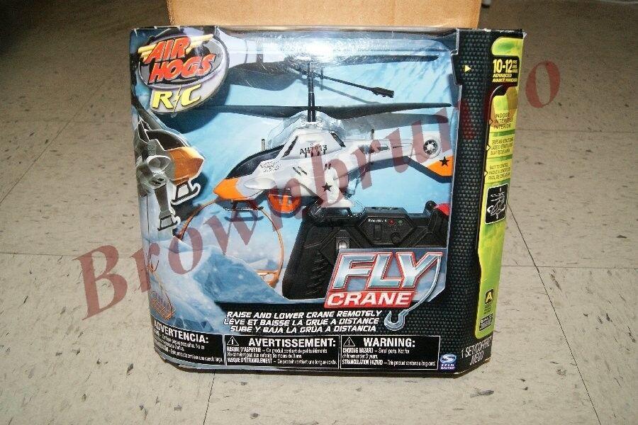 Air Hogs R/C Fly Gru Elicottero Artic Mimetico Radio Controllo con / 3 Cestini
