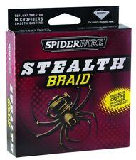 1 SPIDERWIRE STEALTH BRAID SM BULK SPOOL 80 # TEST 1,500 YD MOSS GREEN