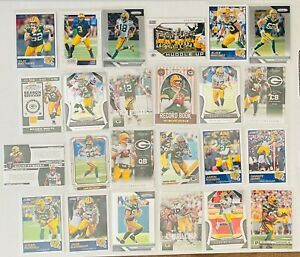 Green-Bay-Packers-24-Card-Lot-Aaron-Rodgers-Brett-Favre-DaVante-Adams-Jones