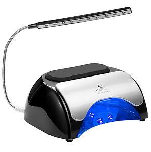 Nail-Lamp-LED-UV-Dryer-for-Gel-Based-Polishes-with-Automatic-Sensor-USB-Light