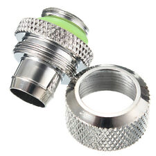 3/8 Computer Liquid Water Cooling Compression Fitting For 9.5X12.7 Tubing Pipe