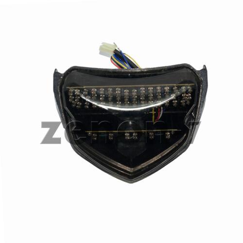 for Suzuki GSXR GSX-R 600 750 2004 2005 Smoke Lens  LED Tail Light Turn Signal
