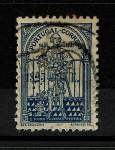 Portugal-SC-538-Used-perfin-cancel-minor-toning-S5613