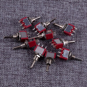 10pcs-3-Pin-Position-ON-OFF-ON-SPDT-Mini-Momentary-Toggle-Switch-250V-3A-125V-6A