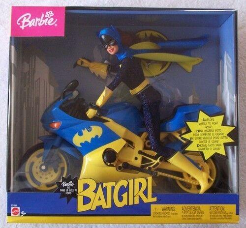 Doll Batgirl Batcycle motorcycle super hero friend Action Figure rare Xmas Gift