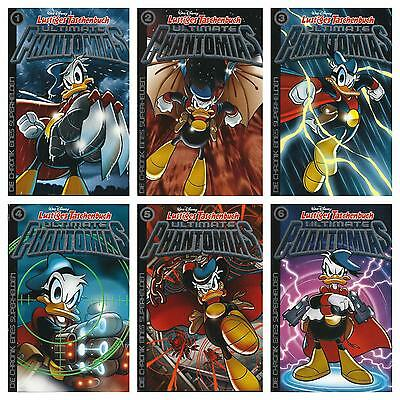 6 LTB Ultimate Phantomias 1,2,5,7,8,9:Die Chronik eines Superh.,ungelesen 1A