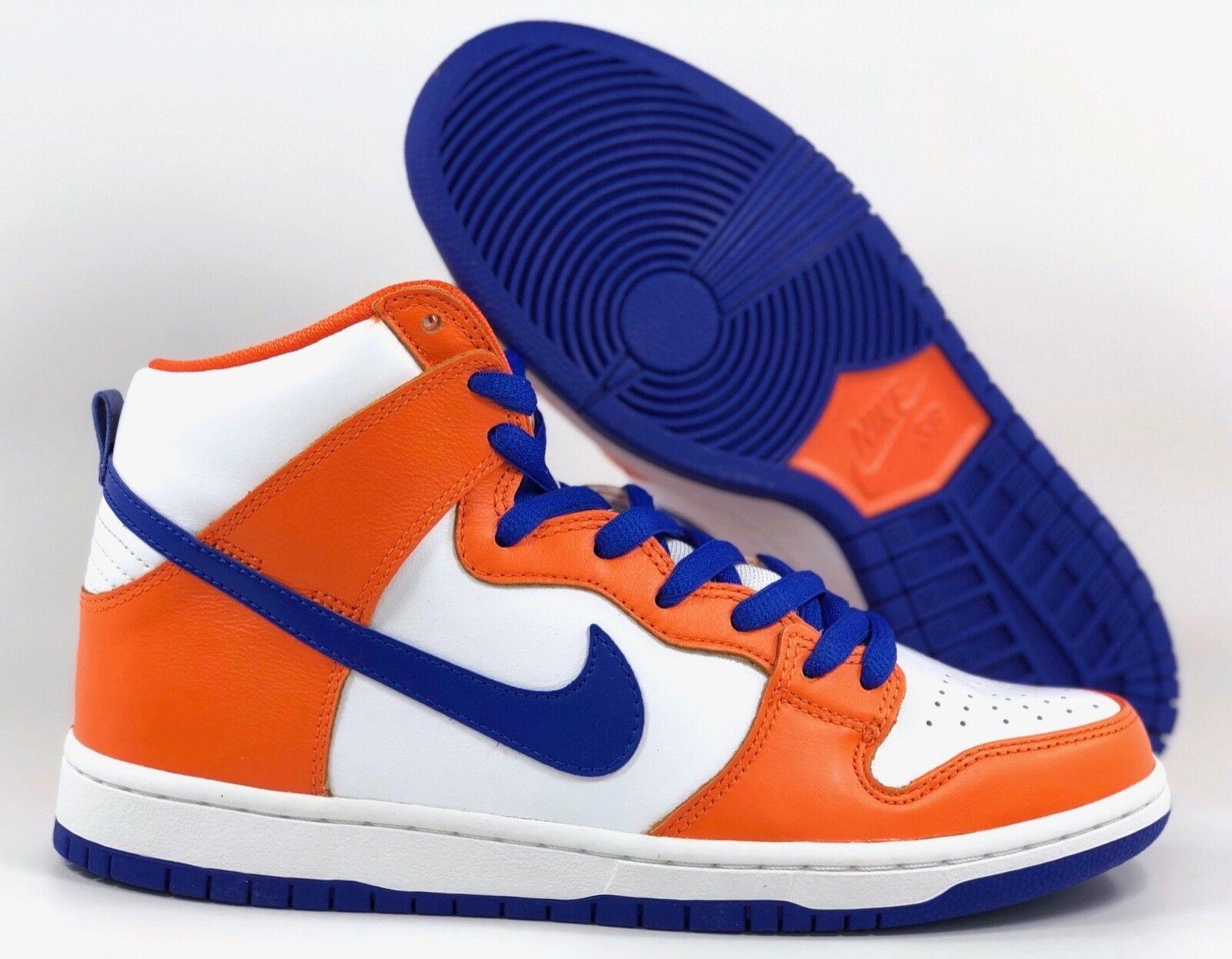 Nike SB Dunk High TRD QS Danny Supa orange blueee White AH0471-841 Men's 11