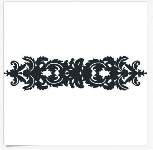 """Lifestyle Crafts QuicKutz 12/"""" Border Die DAMASK Decorative Filligree CC-BDR-024"""